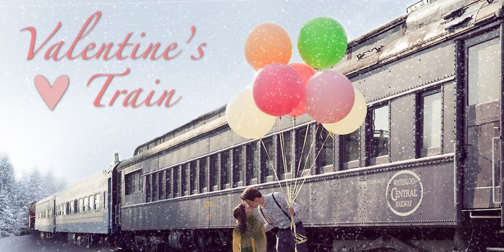 Why not take your honey on a leisurely ride on a historical train for Valentine's Day! ❤️