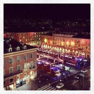 Christmas market in Nice.