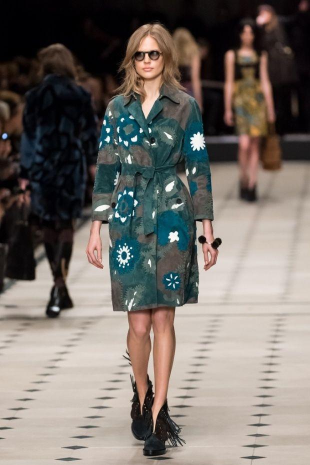 Burberry. London fashion week, autumn/winter 2015