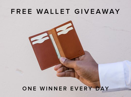 Win a free wallet from Linjer!