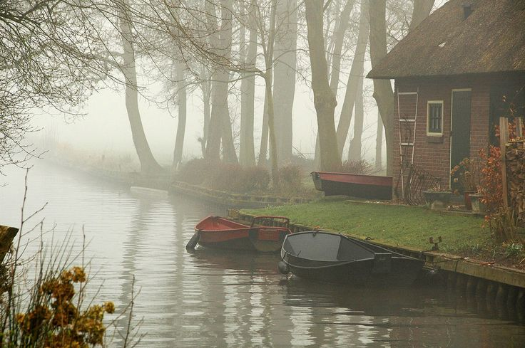 There is a Magical Little Town in Holland Where the Streets Are Made of Water   - CountryLiving.com