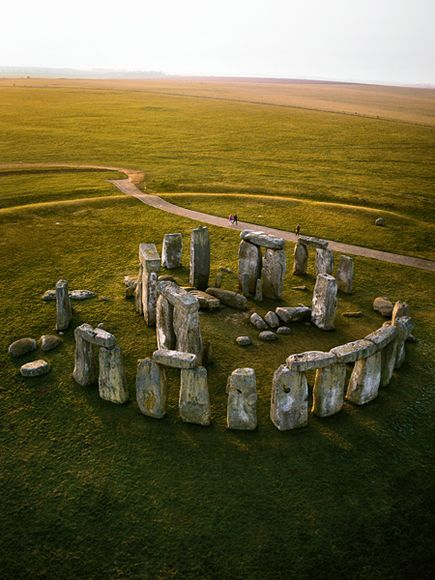 Stonehenge, England, United Kingdom, great capture.  An absolute wonder.