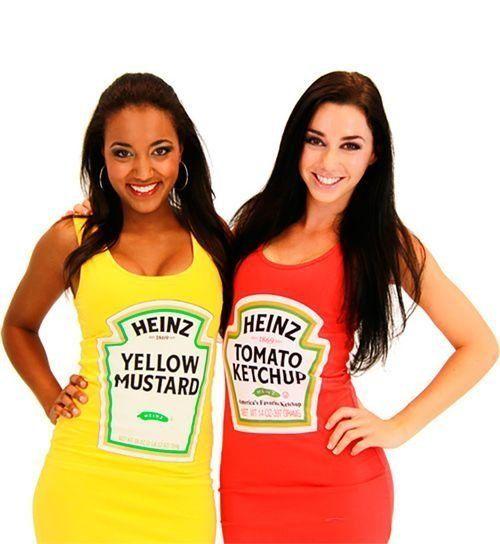 Heinz Ketchup And Mustard Is The Sauciest Couples Halloween Costume Of 2017 | HuffPost UK