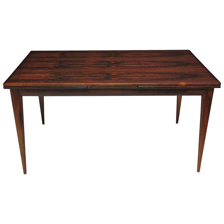 Niels Otto Moller Danish Rosewood Dining Table