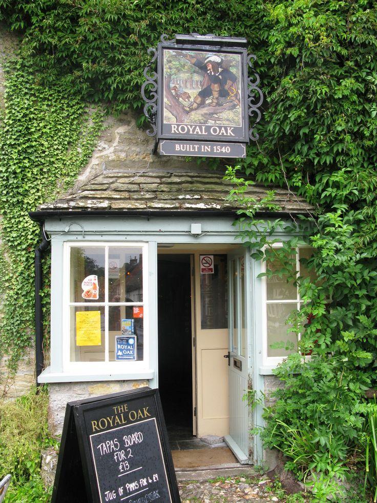 royal oak built in 1540 cerne abbas dorset england royal oak pub british pub english. Black Bedroom Furniture Sets. Home Design Ideas