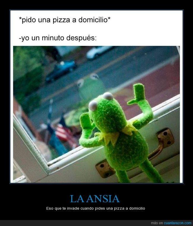 LA ANSIA - Eso que te invade cuando pides una pizza a domicilio   Gracias a http://www.cuantarazon.com/   Si quieres leer la noticia completa visita: http://www.estoy-aburrido.com/la-ansia-eso-que-te-invade-cuando-pides-una-pizza-a-domicilio/
