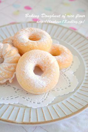「米粉の焼きドーナツ」cocoa   お菓子・パンのレシピや作り方【corecle*コレクル】
