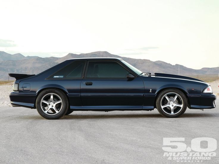 1992 Mustang GT Turbo | 1992 Ford Fox Mustang Gt Passenger Side View Photo 2