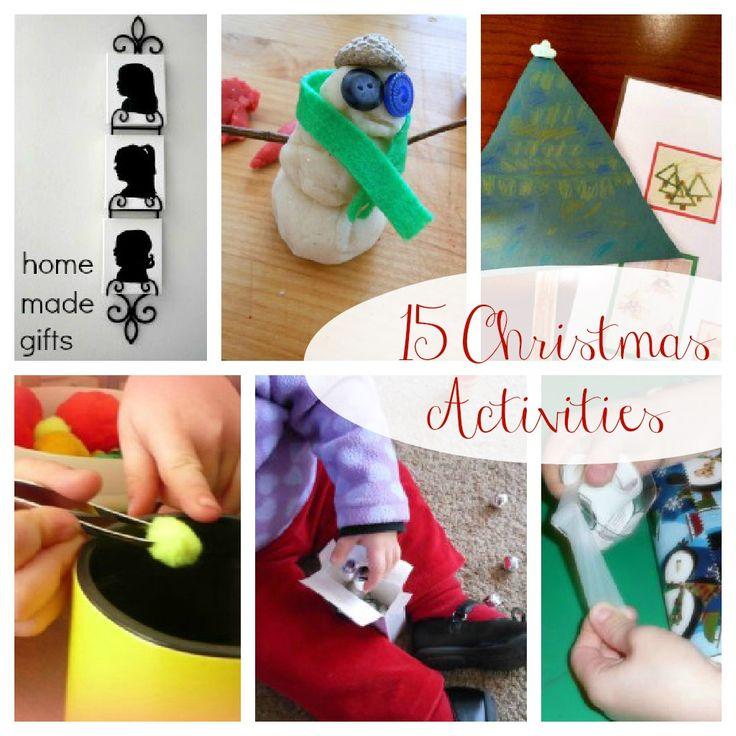 15 Christmas Activities