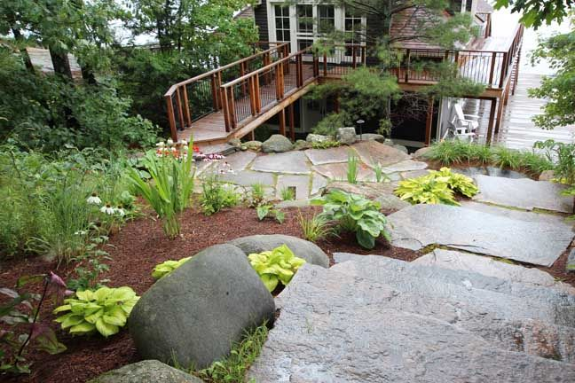 11 best images about going green landscape ideas on for Garden design ideas ontario