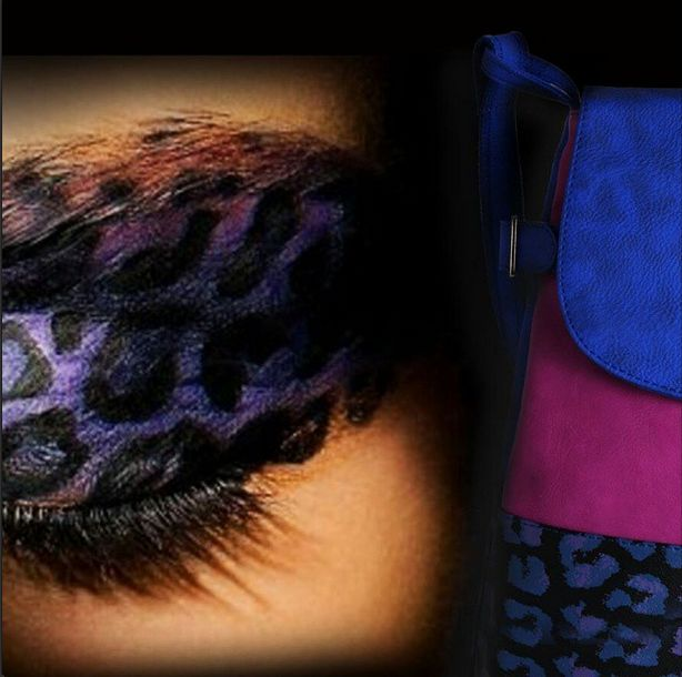 Animal print eye-shadow inspiration for the bold, Wander Lust Collection! #Inspiration #AnimalPrints