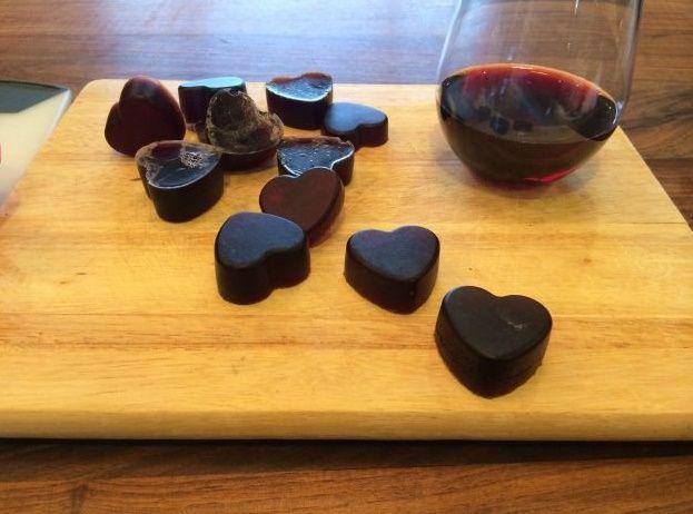 gomitas de vino