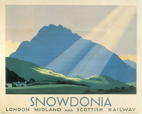 Snowdonia by National Railway Museum - art print from King & McGaw