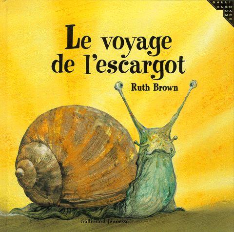voyage de l'escargot : exploitation de l'album et différentes idées d'av