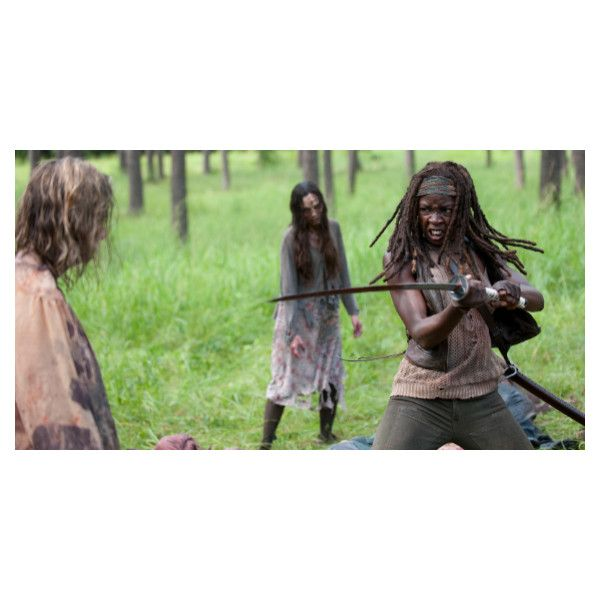 'The Walking Dead' Season 4 Mid-Season Premiere Review ❤ liked on Polyvore featuring the walking dead and walking dead