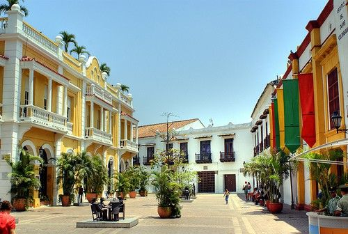 Best places to go in Colombia - Cartagena