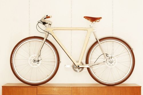 Good wood - 'Nexus 8' single gear bike by BSG Bikes