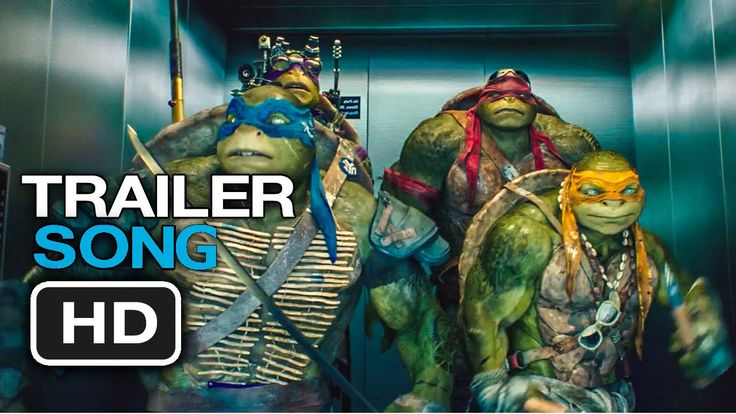 TEENAGE MUTANT NINJA TURTLES Trailer Song #3 Shell Shocked-Juicy J. & Wi...