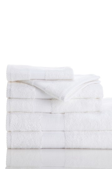 luxury towels by kassatex bamboo collection 6 piece towel set whitewas 110