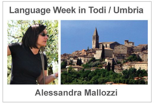 NEW Homestay language AND wine vacation in Italy in Todi-Umbria with Alessandra Mallozzi - Studentessa mattaStudentessa matta