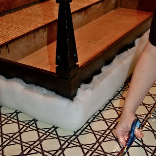 ... Character: How To: Turn a Coffee Table into an Upholstered Bench