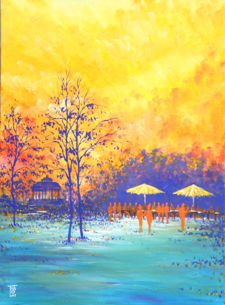 The park - Jan 2017 - THAO Acrylic - 81x60