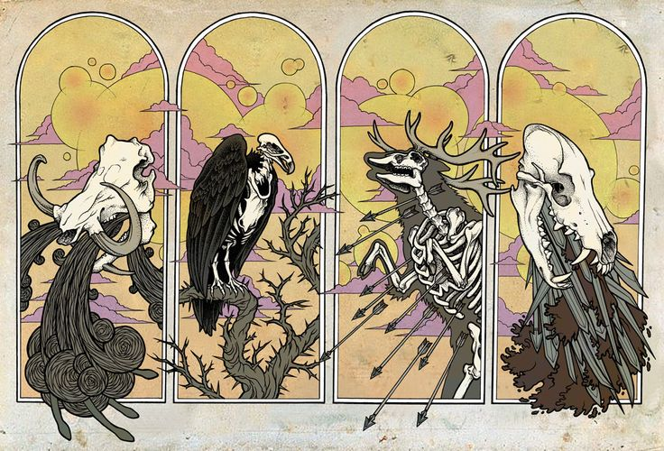 Visions of Whimsy: The Four Horsemen
