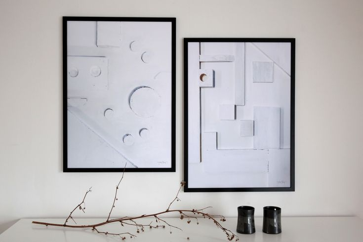 """Circle"" and ""Square"" Print: Ylva Skarp Photo: Susanne Kings"