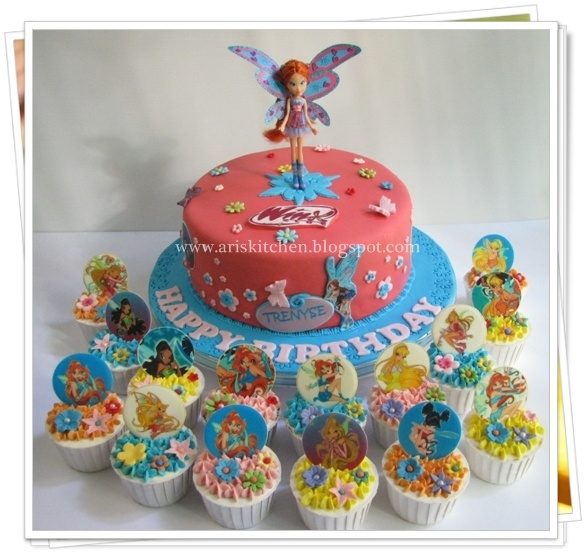 d'Angel Cakes: Winx Club Cake Theme