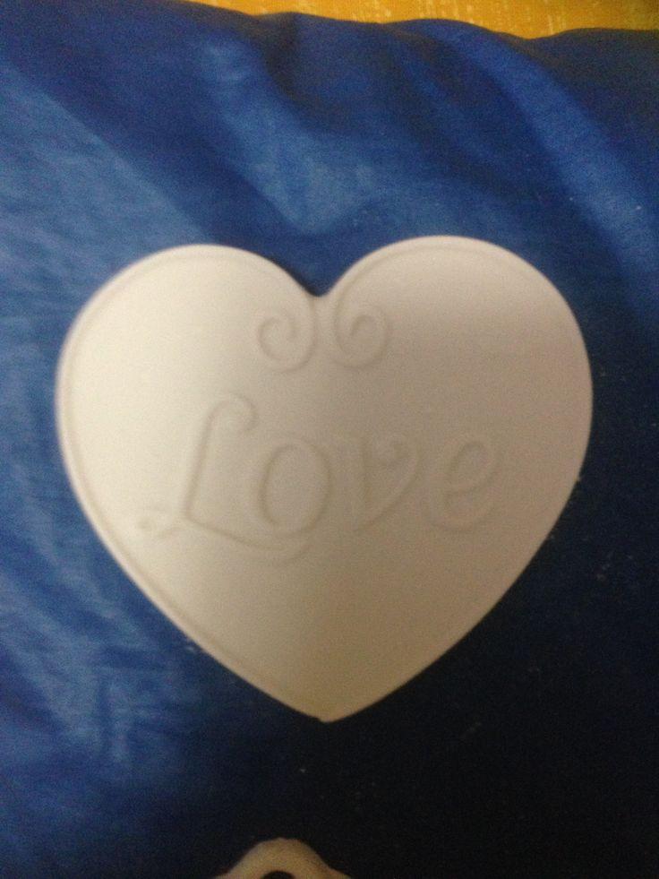 cuore con scritta