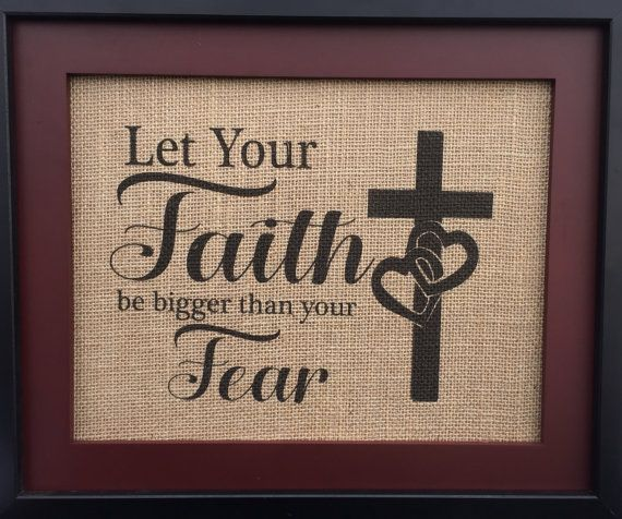 Faith Wall Decor 31 best images about burlap home decor on pinterest | leo wife