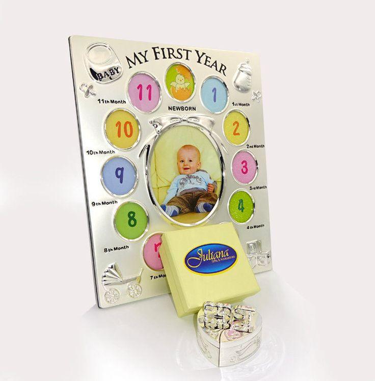 Rama 12 poze cutiute suvita dintisor Rama 12 poze cutiute pentru prima suvita si primul dintisor, un  cadou de botez sau prima aniversare a bebelusului.