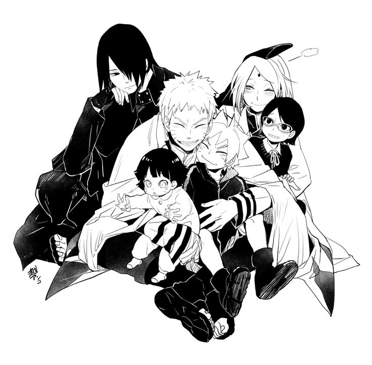 Tags: Fanart, NARUTO, Haruno Sakura, Uzumaki Naruto, Uchiha Sasuke, Pixiv, Fanart From Pixiv, Pixiv Id 903594, Uzumaki Himawari, Uchiha Sarada, Uzumaki Boruto