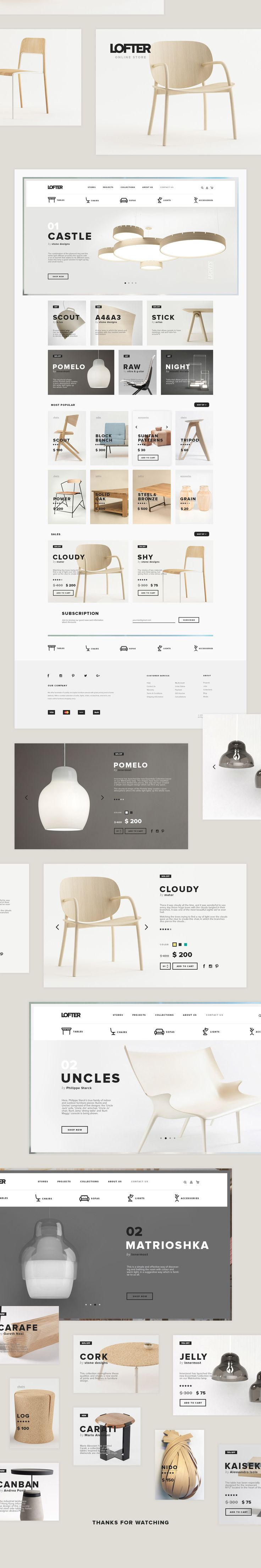 Lofter on Behance