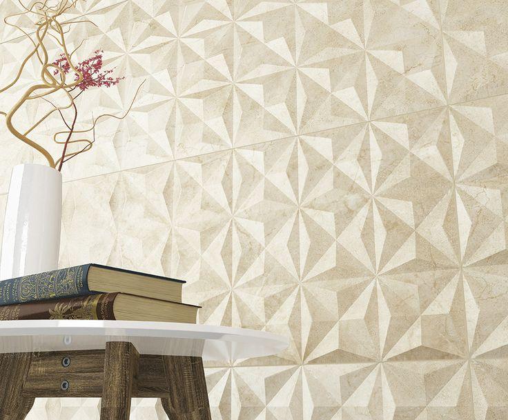 Tarvos marfil 33,3x100 cm.   Arcana ceramica   covering   ARCANA Tiles