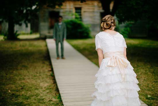 pioneer wedding dresses