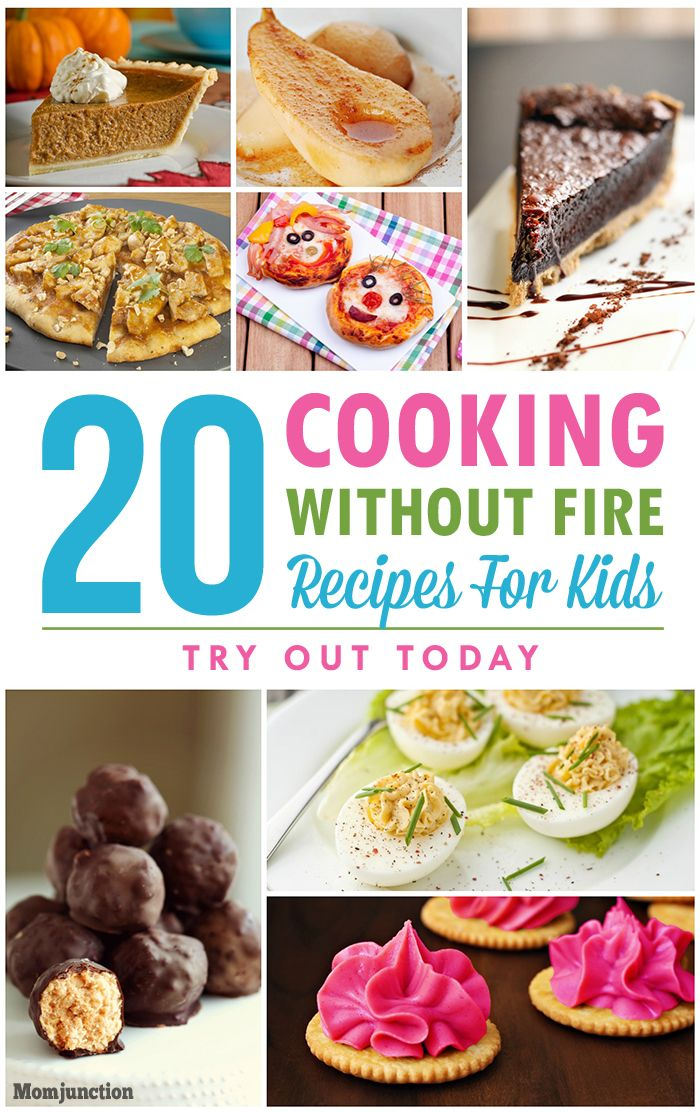 Are you in search of cooking without fire recipes for children? Not sure how to start? Here are 20 fireless cooking recipes and desserts to make with kids.