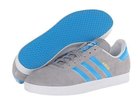 adidas Originals Gazelle Mid Cinder/Solar Blue/White - Zappos.com Free  Shipping