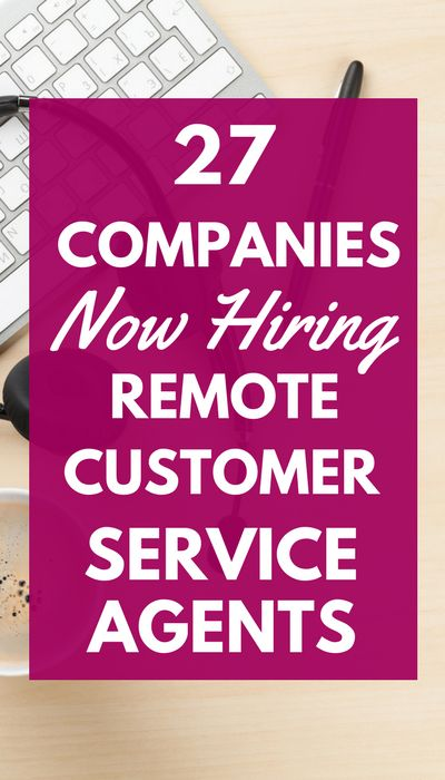 If you want to escape your cubicle, consider customer service jobs from home. There are lots of options to choose from, and some even let you set your own schedule!