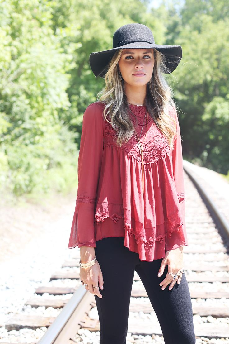 Altar'd State Timeless Memories Top #altardstate  Lace fall fashion