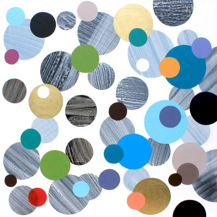 Les 227 meilleures images propos de arts visuels sur for Peinture geometrique contemporaine