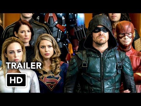 DCTV Crisis on Earth-X Crossover Full Trailer - The Flash, Arrow, Supergirl, DC's Legends (HD) - YouTube