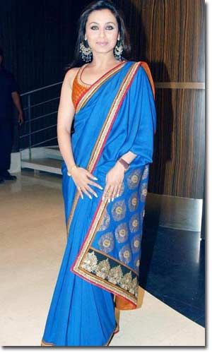 The Elegance of Royal Blue Saree in Wedding Cermony