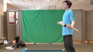 LIBRARY AS MAKERSPACE: Adventures in Green Screen