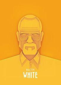 Los diseños e ilustraciones de Ariel Ratajczak / Breaking Bad