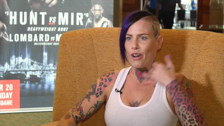 awesome Bec Rawlings complete pre-fight interview at UFC Fight Night 85