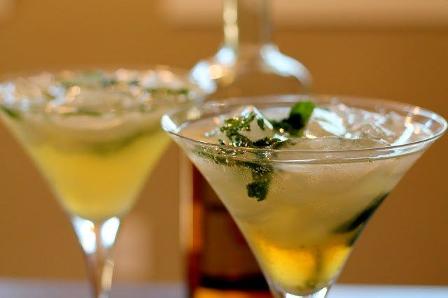 Skinny Mojito Martini - Baked in the South