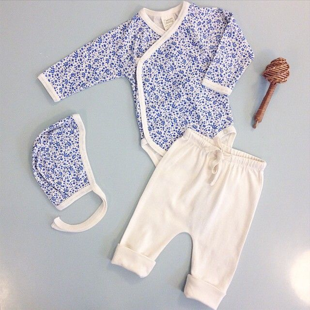 We are so excited to hear the second royal baby was born yesterday! We think this sweet outfit is perfect for a princess x #royalbaby #meadowleaf #princess #naturebaby