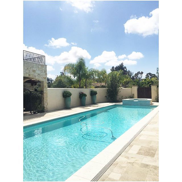 A Snap From An Equestrian Estate I Previewed For A Client Last Week. The Grounds & Home Were Stunning, This Is One Of Two  Pools. Perfect For Riding X Swimming X Lounging X Tennis W/Out Leaving The Gates. 😉✨🐴✨🎾✨🐠 . . #realestate #sellingsandiego #equestrian #realtor #luxuryhomes #estate #pool #private #preview #resort #ranchosantafe #rsf #sandiego #luxuryrealestate #fedoralula #blogger #designer #entrepreneur #lovewhatido #sellingsandiego #mackenziesee #mackenzieseerealestate #lifestyle…