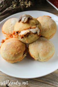 Ham and mushroom stuffed balls – getBready